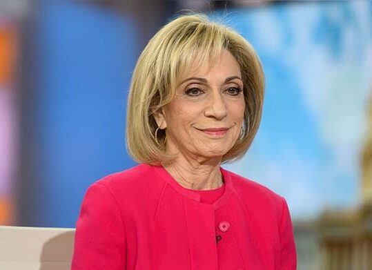 A photo of Andrea Mitchell