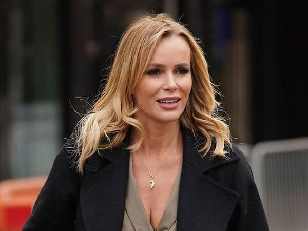 A Photo of Amanda Holden
