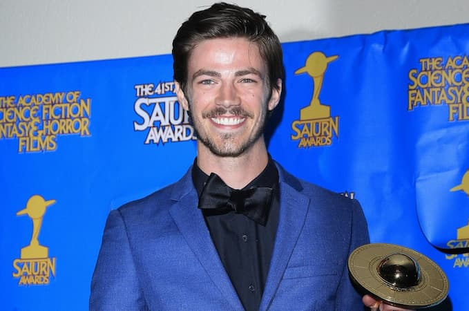 A photo of Grant Gustin