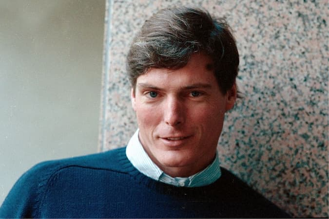 A photo of Christopher Reeve