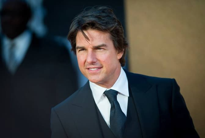 A photo of Tom Cruise
