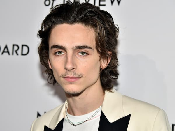 A photo of Timothee Chalamet